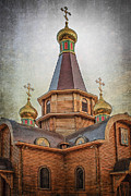 Orthodox Photo Metal Prints - Iglesia Ortodoxa Rusa del Arcangel San Miguel Metal Print by Erik Brede