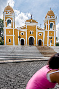 Travel Acrylic Prints - Iglesia Parroquial One Acrylic Print by Josh Whalen