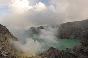 Volcano Prints - Ijen Print by Jessica Rose