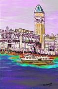 Il Campanile Di San Marco Print by Loredana Messina