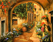 Italy Prints - Il Piccolo Arco Print by Guido Borelli