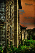 Abandoned Houses Digital Art Prints - Ill Take Everything Print by Lois Bryan