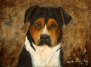 Greater Swiss Mountain Dog Prints - Ill Wait for You Print by Tatanka Star Pony Batson