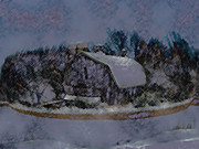 Illinois Barns Art - Illinois Barn Rock Wall by Dennis Buckman