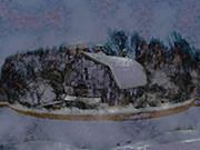 Illinois Barn Rock Wall Print by Dennis Buckman