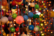 Colored Paper Prints - Illuminated decoration  Print by Fototrav Print