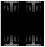 Michael Aviles Framed Prints - illusion-Chairs in a bar Framed Print by Michael Aviles