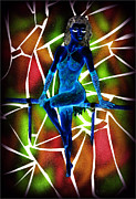 Dancer Mixed Media - Illusion by Kenneth Clarke
