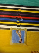 80s Framed Prints - Illusion Legs Framed Print by Christian  Fretty