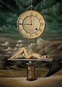 Oil Paintings - Illusion Of Time by Svetoslav Stoyanov