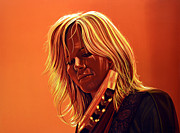 Pop Singer Painting Prints - Ilse DeLange Print by Paul Meijering