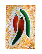 Red Hot Chili Peppers Paintings - Im a Pepper by Beth  Cornell