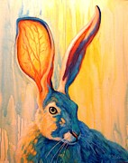 Bright Colors Metal Prints - Im All Ears Metal Print by Theresa Paden