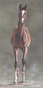Foal Paintings - Im Coming by Linda Shantz