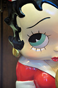 Betty Boop Framed Prints - Im Keeping My Eye On You Framed Print by Jan Amiss Photography