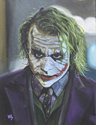 The Dark Knight Paintings - Im not a monster... by Karsten Coty-Scholl