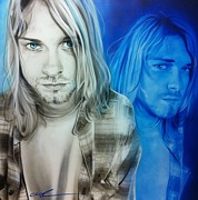 Nirvana Prints - Im Real Good at Hating Print by Christian Chapman Art