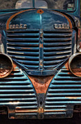 Rusty Pickup Truck Photos - Im So Blue by Ken Smith