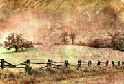 Imaginary Morning On The Blue Ridge II Print by Dan Carmichael