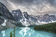Snow Capped Metal Prints - Imaginary Waters Metal Print by Jon Glaser