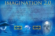 Diskrid Art Posters - Imagination 2.0 Poster by Diskrid Art