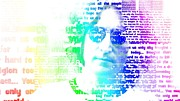 John Lennon Digital Art Originals - Imagine by Andrew Kaupe