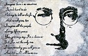 British Music Art Paintings - Imagine-John Lennon by Bryan Dubreuiel
