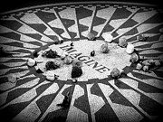 Beatles Photos - Imagine memorial in New York City. by Sonia Elisseeva