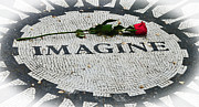 Beatles Photos - Imagine by Mike Martin