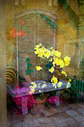 Window Bench Photos - Imagine by Penny Lisowski