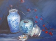 League Originals - Imari and Flowers by Patricia Kimsey Bollinger