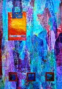 Vertical Mixed Media Prints - Immersion Print by Debi Pople