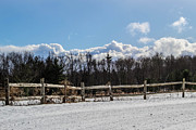 Split Rail Fence Photos - Immitation by Anthony Thomas