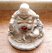 Buddhist Sculptures - Immortal Buddha by Amanda Cambra