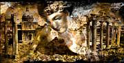 Immortality   Part Two... Print by Anastasios Aretos
