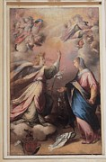 Annunciation Framed Prints - Imparato Gerolamo, Annunciation, 16th Framed Print by Everett