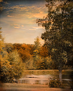 Autumn Landscape Photo Framed Prints - Impending Autumn Framed Print by Jai Johnson