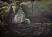 Rural Indiana Prints - Impending Storm Print by Lynn Palmer - MC