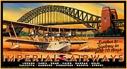Imperial Airways 2 Print by Clive Norton