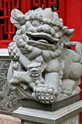 Imperial Guardian Lioness  Print by Karon Melillo DeVega