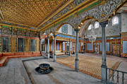 Topkapi Prints - Imperial Hall of Harem in Topkapi Palace Print by Ayhan Altun
