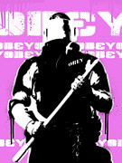 Obey Paintings - Impotence Version 4 by Allan Oberholtzer