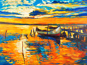 Pier Mixed Media - Impression by Ivailo Nikolov