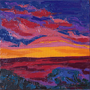 Erin Fickert-Rowland - Impression of a Sunset