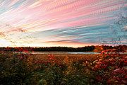 Time Stack Prints - Impressionistic Autumn Print by Matt Molloy