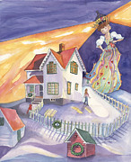Nubble Lighthouse Paintings - In a Dream by Cori Caputo