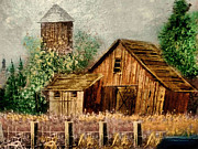 Corn Paintings - In a Rustic Time by Scott B Bennett
