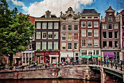 Amsterdam Posters - In Another Time and Place Poster by Joan Carroll