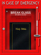 Bible Digital Art Prints - In Case Of Emergency Print by Cristophers Dream Artistry
