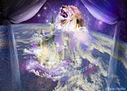 Gods Digital Art - In earth as it is in Heaven by Dolores DeVelde